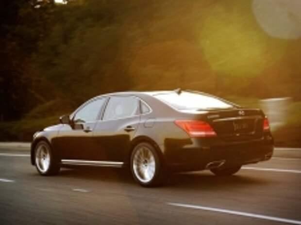 На рынке РФ вышел Hyundai Equus в новой комплектации Elite Plus