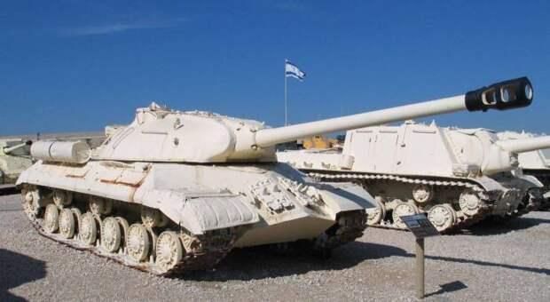 Трофейные ИС-3 в Израиле. |Фото: topwar.ru.