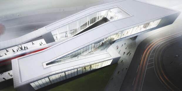 Теплый переход соединит станции МЦД-1 и МЦК «Окружная» в 2022 году