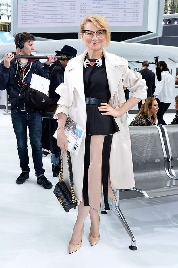 6 моделей юбок для женщин 50+, которые советует Эвелина Хромченко