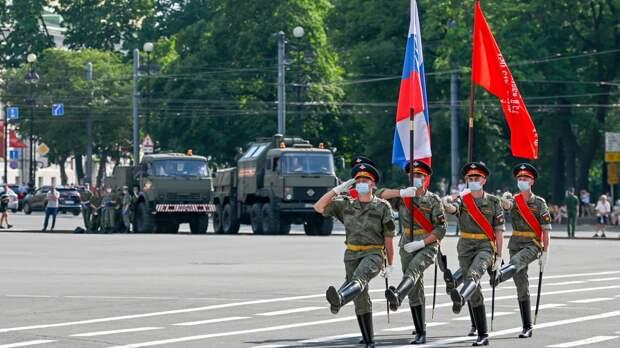 В генеральной репетиции парада Победы в Челябинске приняли участие две тысячи человек