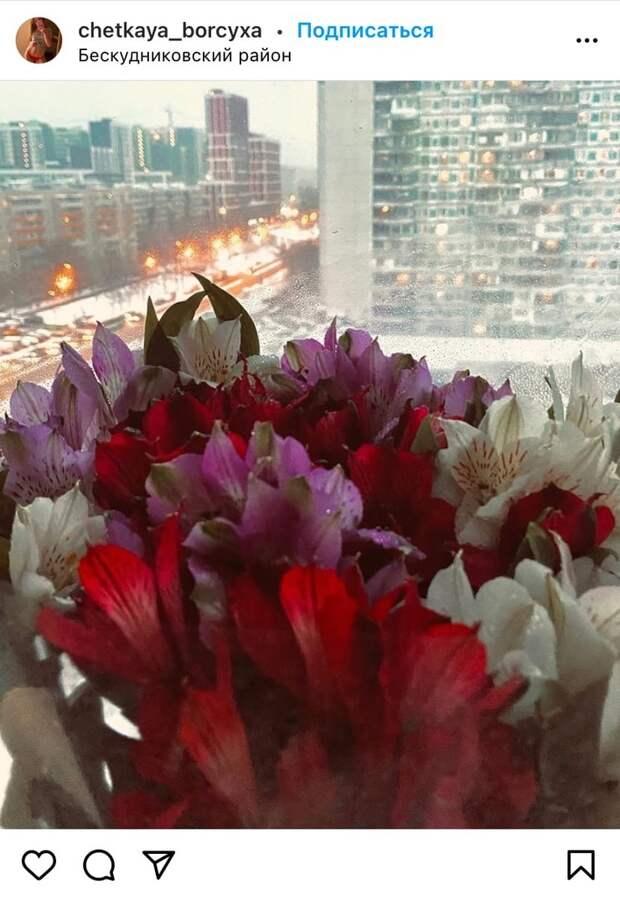 Фото дня: цветы и любовь в Бескудникове