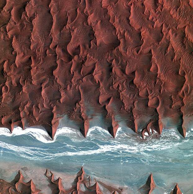 6 невероятных фото нашей планеты, сделанных с орбиты
