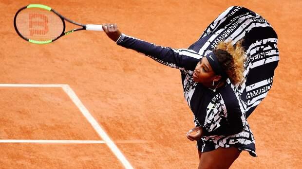 Серена Уильямс выиграла у Бегу в первом круге «Ролан Гаррос»