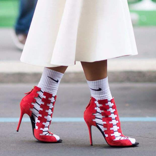 носки под туфли