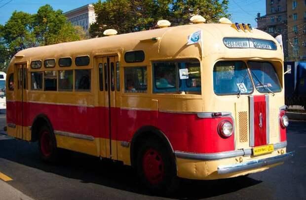 ЗИС-155 автобусы, история, это интересно
