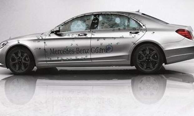 Mercedes-Benz подготовил бронированный седан S 600