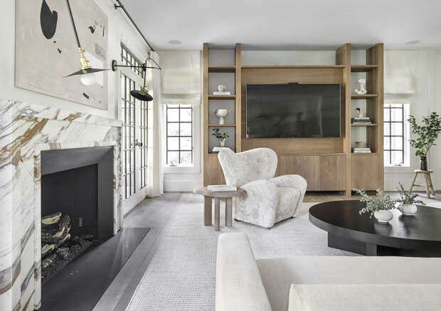 Великолепный дизайн красивого дома в США, который впечатляет как снаружи, так и внутри