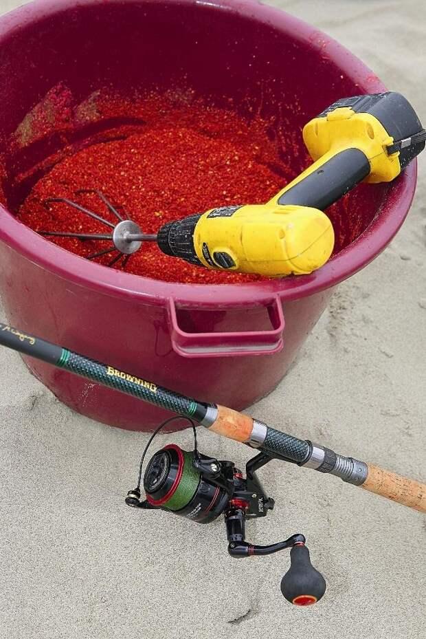 Красный цвет наиболее универсальный и «съедобный» для лещей.
