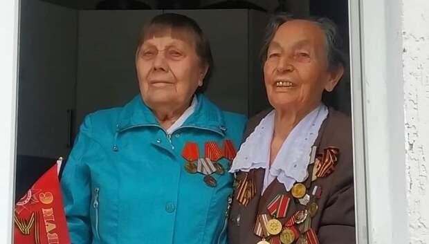 В микрорайоне Дубровицы поздравили с Днем Победы более 30 ветеранов