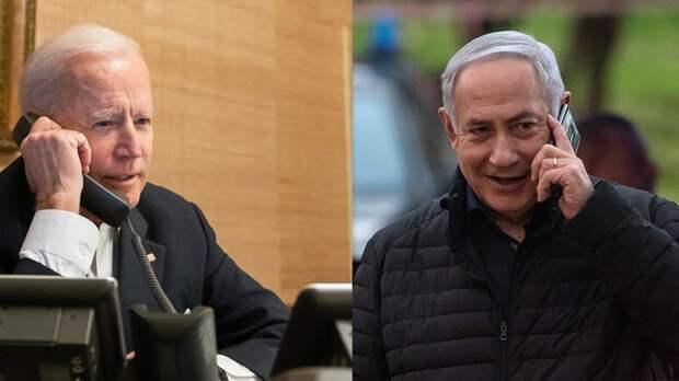 Байден провел переговоры с Нетаньяху и поддержал прекращение огня
