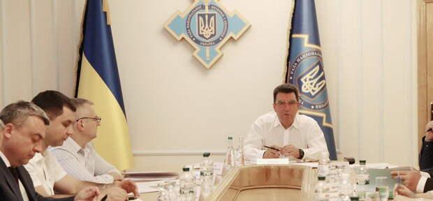 Секретарь СНБО Украины бунтует и разгоняет страшную «зраду»