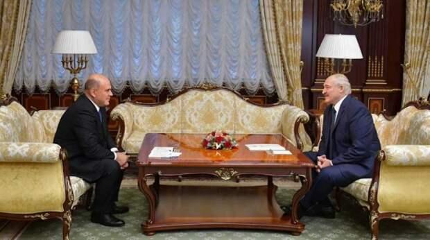 Мишустин приехал на встречу к Лукашенко: как проходят переговоры