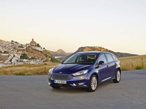 Оператив ЗР: обновленный Ford Focus – все дальше от народа