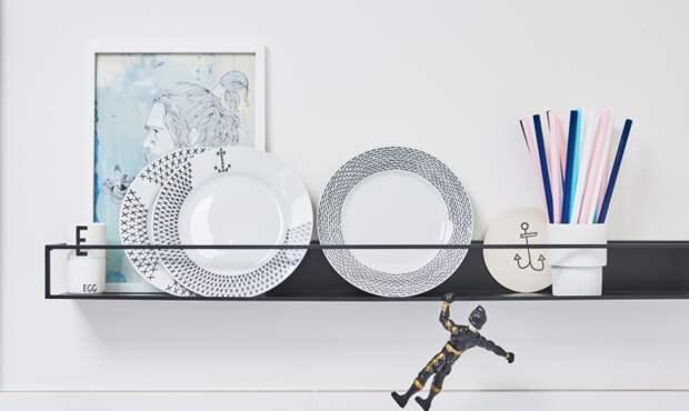 Посуда с росписью (трафик)
