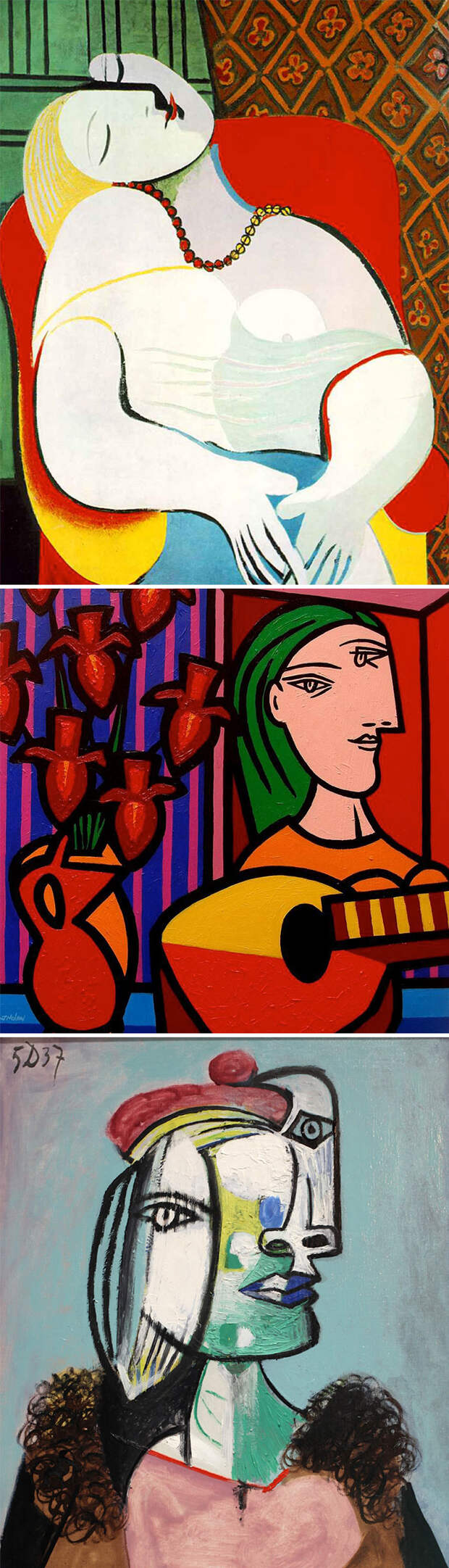 5. Если у всех есть какая-то неисправность тела, то это Пикассо.