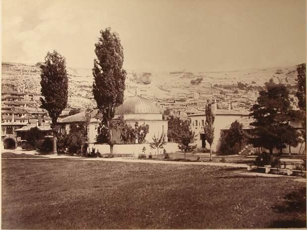 Бахчисарай и Гурзуф в 1880 году