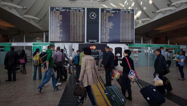 11 человек с признаками инфекций выявили в ходе проверок аэропортов Московского региона