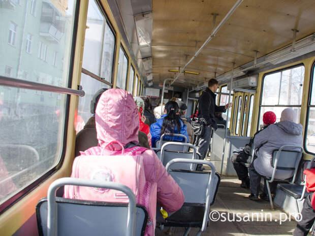 Трамвайное движение на Буммаш ограничат в Ижевске из-за ремонта путей