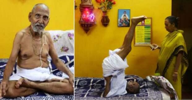 Индийский йог доказал, что родился в 1878 году (показал паспорт)