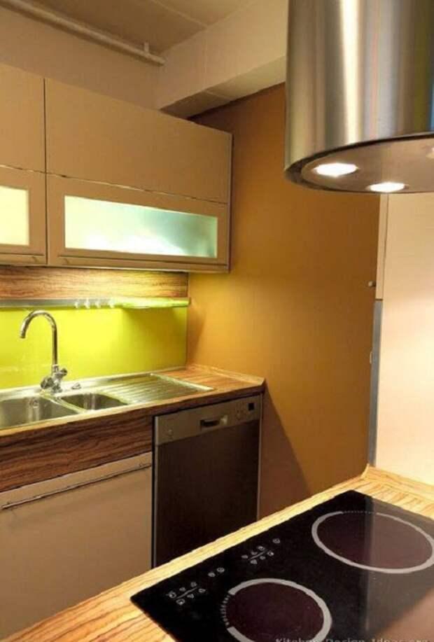 Прекрасный вариант преобразить интерьер кухни и оформить её в современном стиле, что вдохновит и создаст уют.