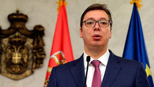Вучич заявил о перемещении военных отрядов косоваров на север края