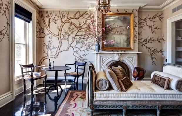 Роспись стен в квартире: несколько способов сделать свою комнату уютной и красивой (46 фото)