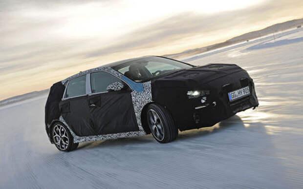 Хот-хэтч Hyundai i30 N совершил видеодебют на 30-градусном морозе