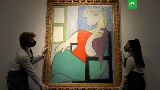 Картина Пикассо ушла с аукциона за 103 млн долларов