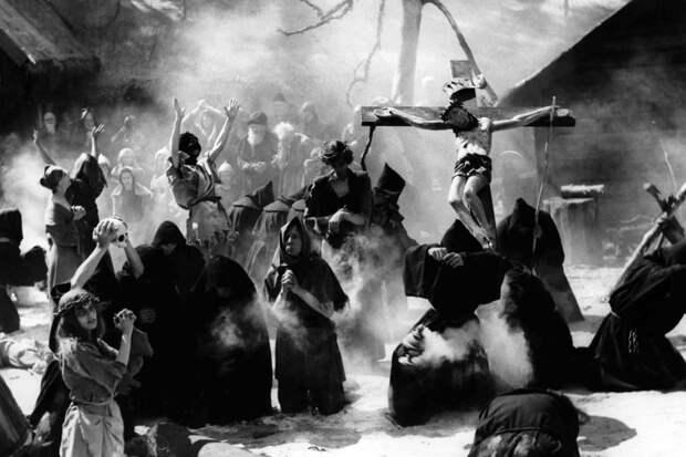 Кадр из фильма «Седьмая печать»