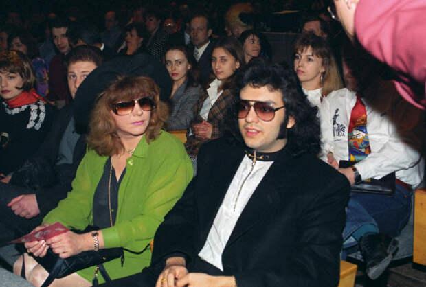 С Филиппом в 1998 г.