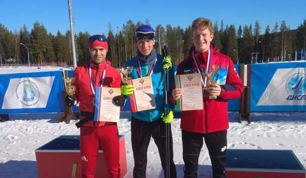 Нижегородец Артем Галунин завоевал бронзовую медаль на чемпионате России по лыжному двоеборью