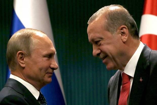 Почему Путин не будет воевать с Эрдоганом?