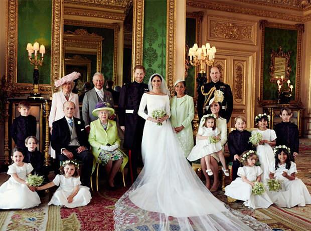 меган гарри свадебные фото