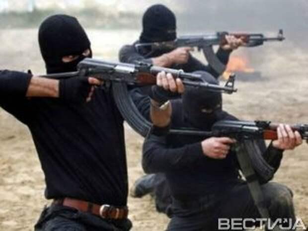 Террористы обстреляли блокпосты сил АТО