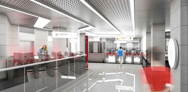 На станции метро «Внуково» возводят основные конструкции – Бочкарёв
