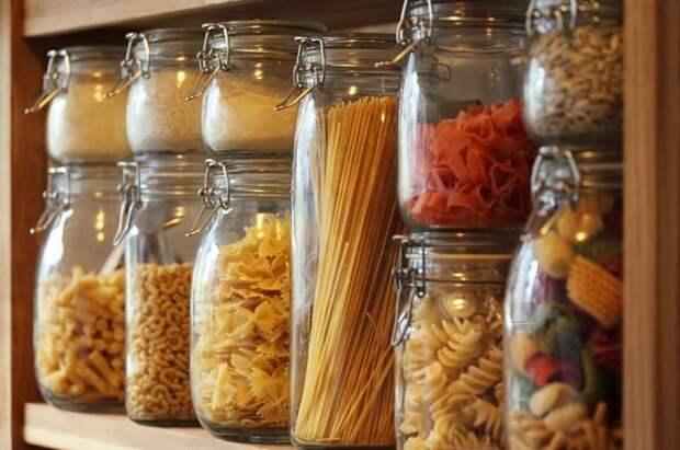 лучше запастись несколькими видами макаронных изделий. / Фото: food.inmyroom.ru