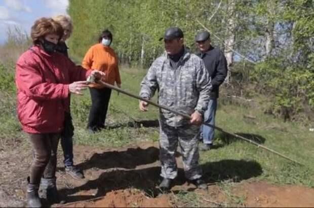 Уровень грунтовых вод на месте строительства Сосновского полигона менее 3 метров