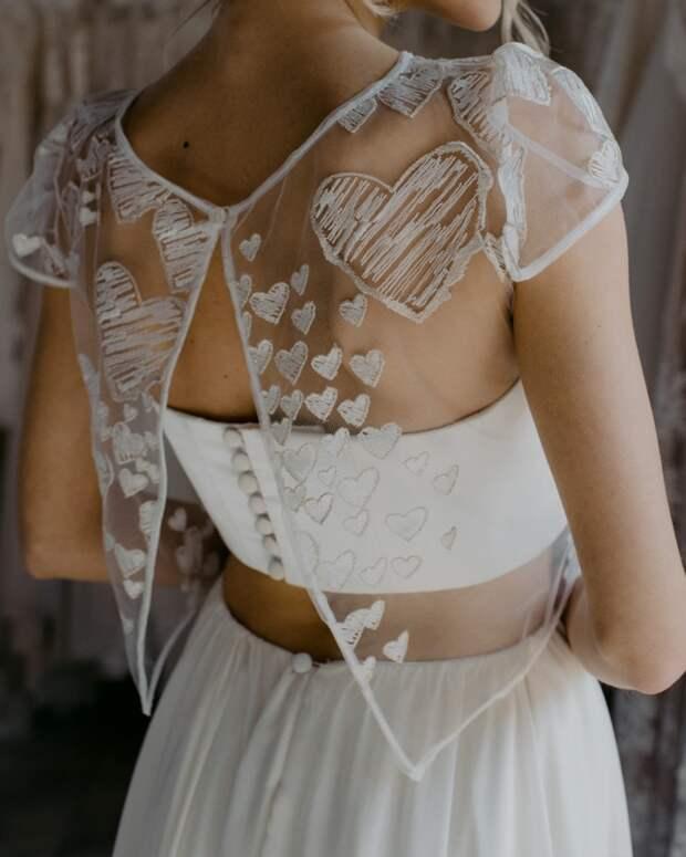 Идеи изумительных спинок для платьев 5