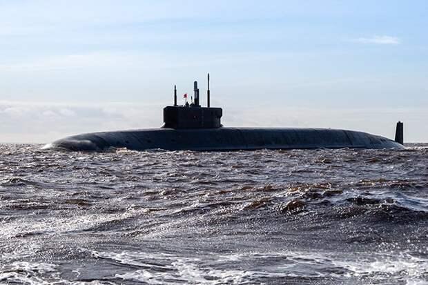 США заметили всплывшую российскую подлодку вблизи Аляски