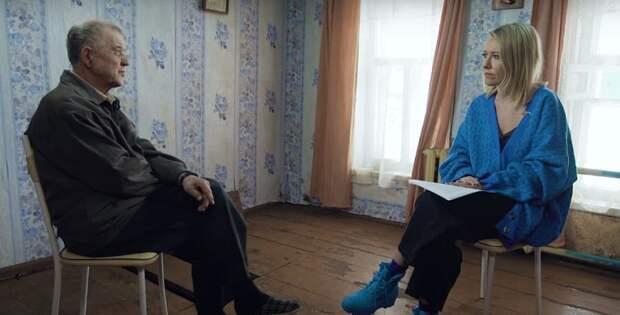 Ксению Собчак критикуют за интервью со «скопинским маньяком»