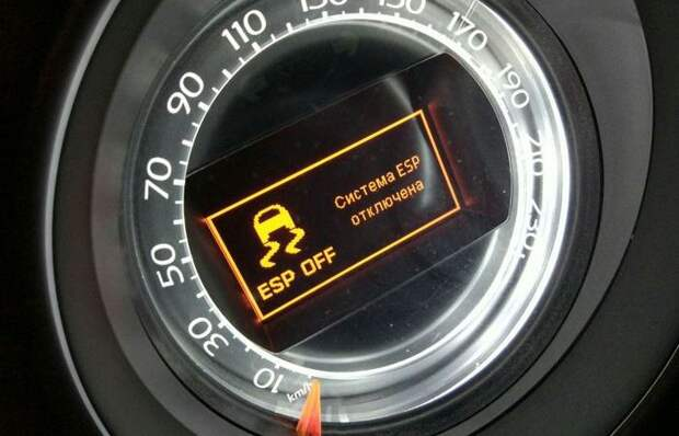 Для чего и когда водитель должен отключать ESP во время поездки