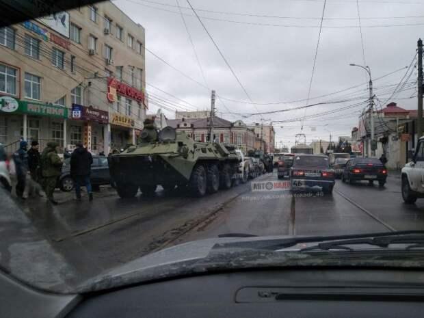 Как в Курске перегоняли военную технику (не повторять - опасно для жизни!)