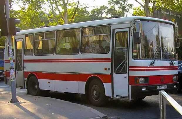 ЛАЗ-4206 автобусы, история, это интересно