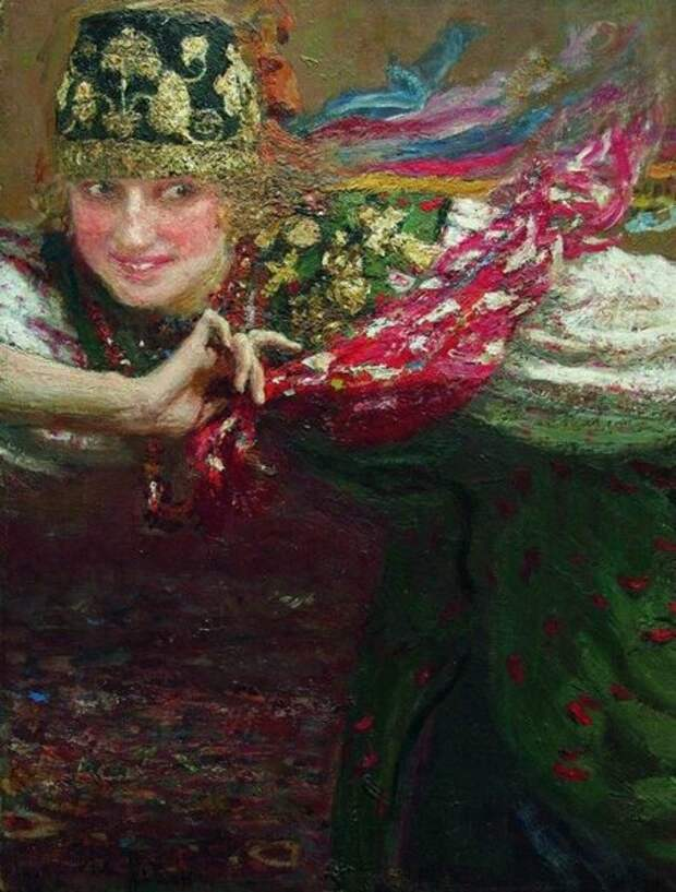 Танцующая. Илья Ефимович Репин, 1920-е