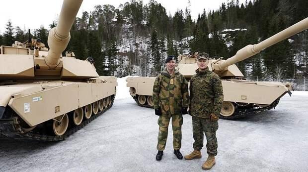 Новый договор предполагает оккупацию Норвегии армией США