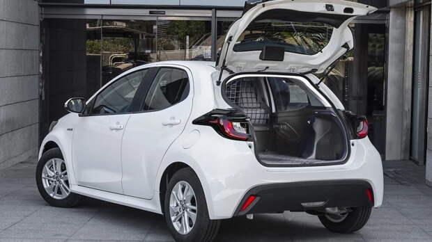 Toyota Yaris стал фургоном