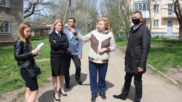 В Керчи продолжаются выездные встречи с жителями