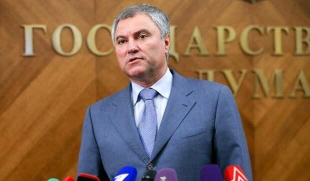 Володин рассказал о мерах воздействия на нарушающих законы IT-гигантов