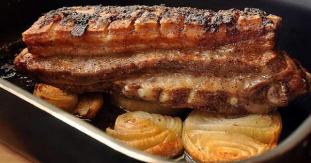 Два очень вкусных блюда из свиной грудинки